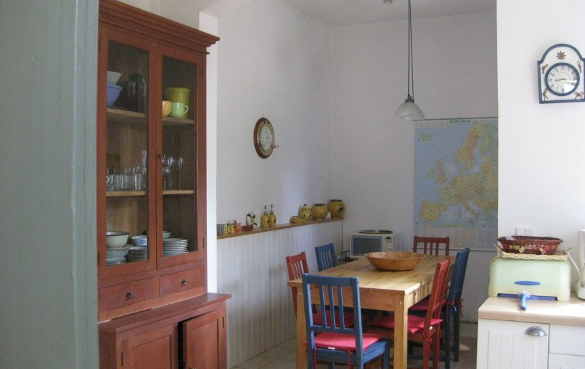 Location de vacances - Villa à Arcachon - Coin repas