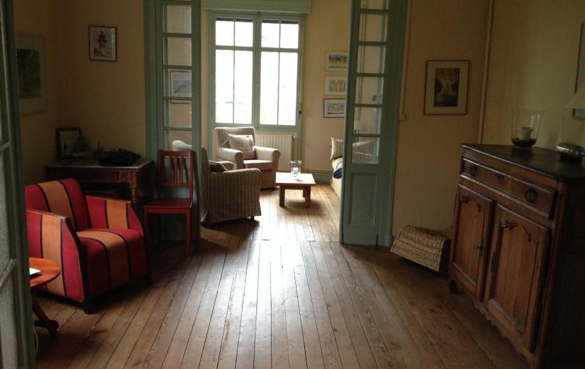 Location de vacances - Villa à Arcachon - Double salon