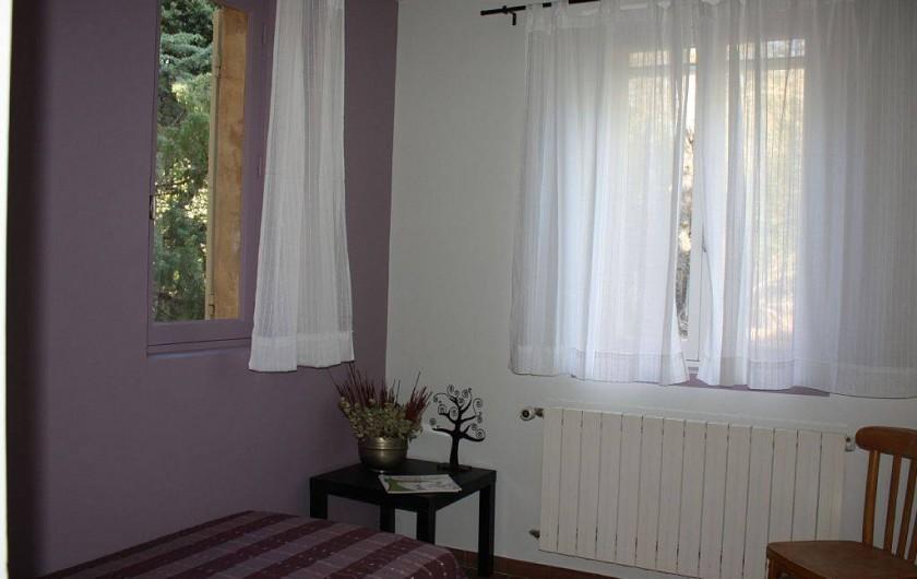 Location de vacances - Villa à Cucuron - Chambre rose