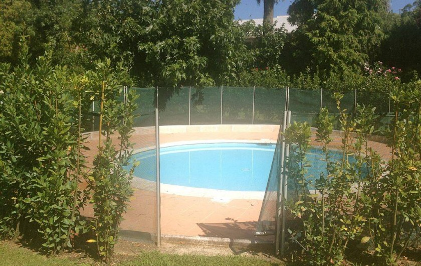 Location de vacances - Villa à Biot - Bassin enfant