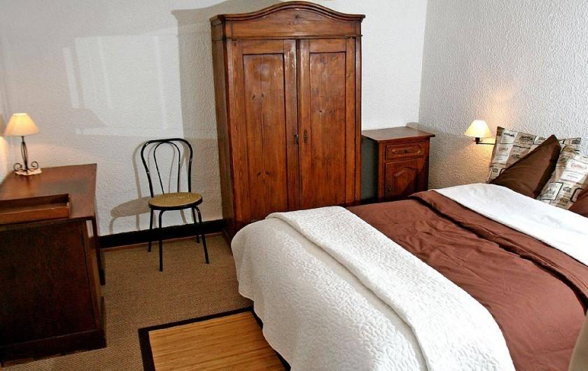 Location de vacances - Gîte à Eguisheim - Chambre du rez-de-chaussée