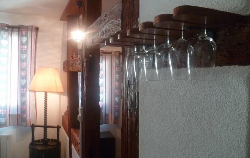 Location de vacances - Gîte à Eguisheim - Tout est prévu pour apprécier les vins d'Alsace... Conseils à l'appui!