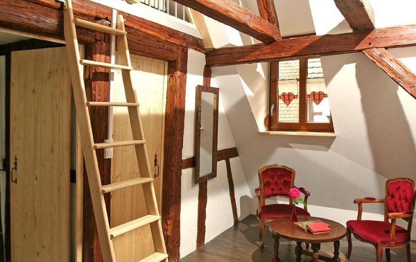 Location de vacances - Gîte à Eguisheim - Suite parentale au 2ème niveau