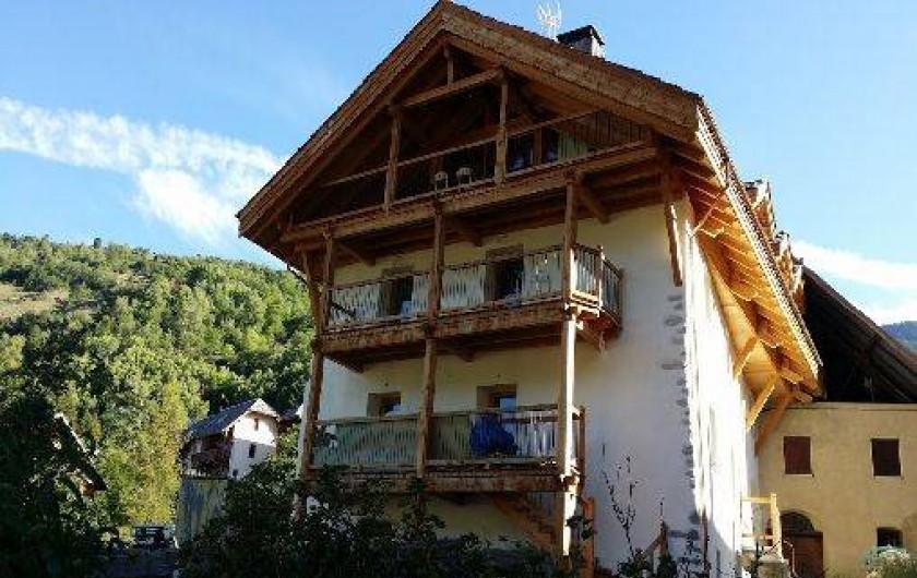 Location de vacances - Appartement à Saint-Chaffrey - Demeure l'Ecrin