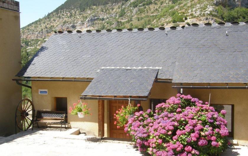 Location de vacances - Maison - Villa à Sainte-Énimie - L'entrée de la maison