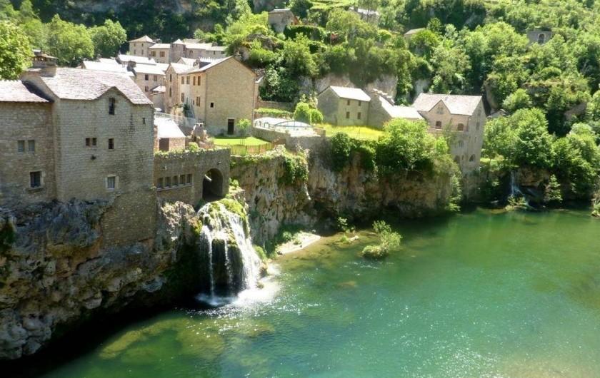 Location de vacances - Maison - Villa à Sainte-Énimie - Village Saint Chely du Tarn à 5 mn en voiture