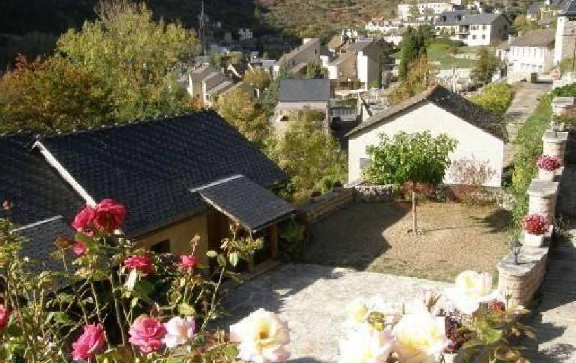 Location de vacances - Maison - Villa à Sainte-Énimie - Parking privé