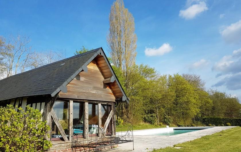 Location de vacances - Maison - Villa à Manneville-la-Pipard - PISCINE & POOLHOUSE