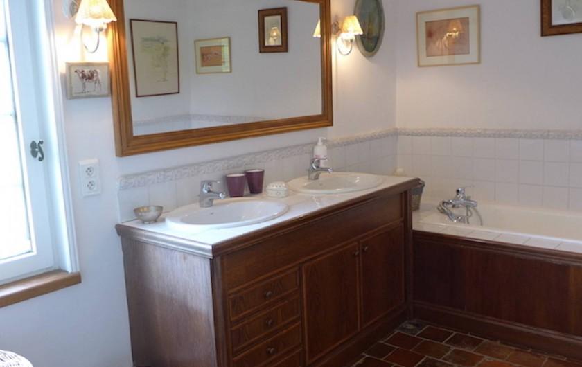 Location de vacances - Maison - Villa à Manneville-la-Pipard - SDB 1ER ETAGE