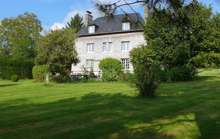 Location de vacances - Maison - Villa à Manneville-la-Pipard - MAISON FACADE SUD
