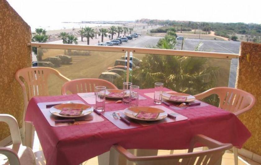 Location de vacances - Appartement à Sainte Marie la Mer