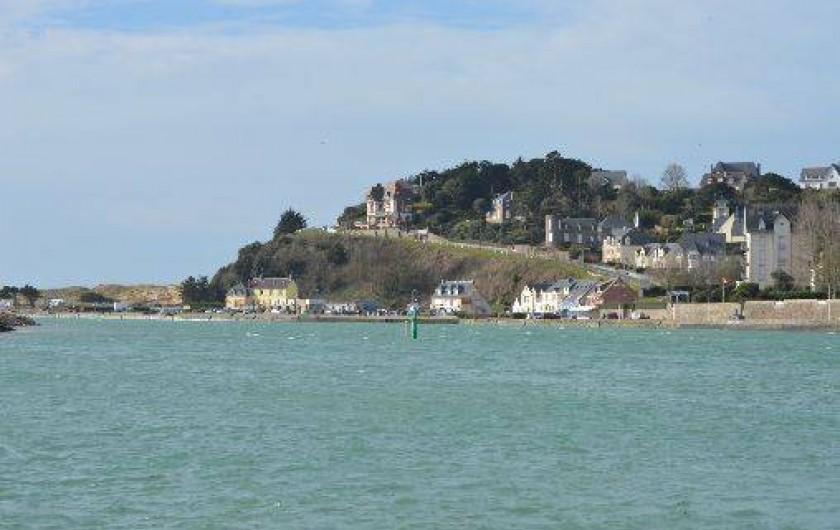 Location de vacances - Maison - Villa à Les Moitiers-d'Allonne - Port de Carteret par grande marée