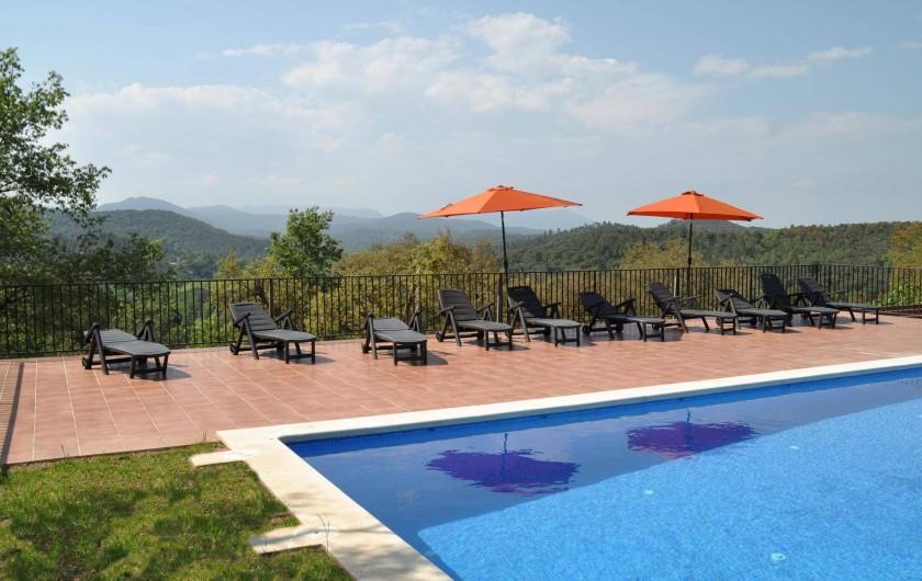 Location de vacances - Mas à Maçanet de la Selva - Piscine