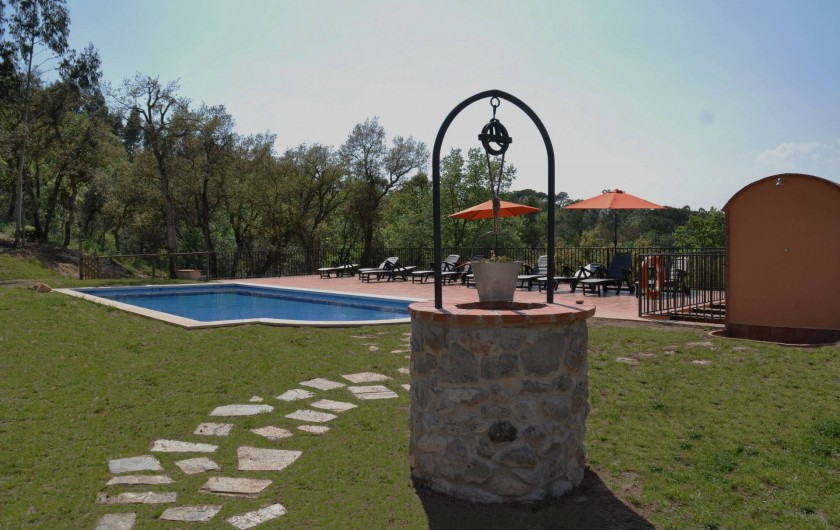 Location de vacances - Mas à Maçanet de la Selva - Zona piscine