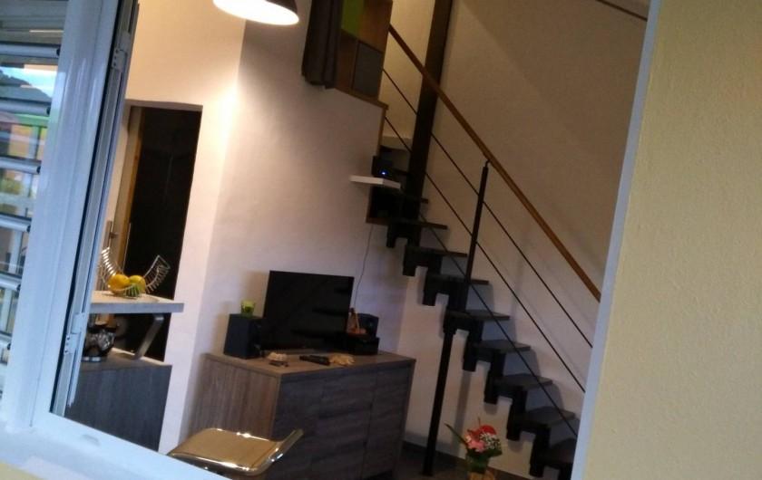 Location de vacances - Studio à Les Trois-Îlets - Vue de la terrasse