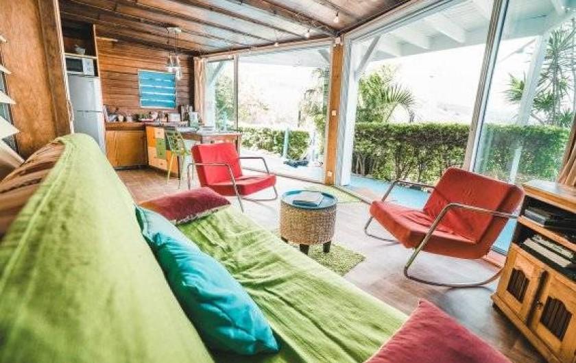 Location de vacances - Studio à Saint-Leu - le salon