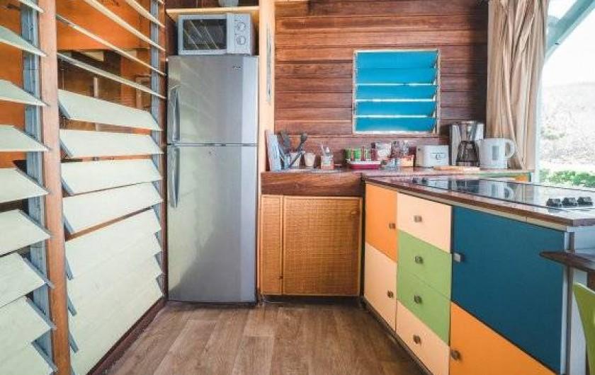 Location de vacances - Studio à Saint-Leu - cuisine équipée