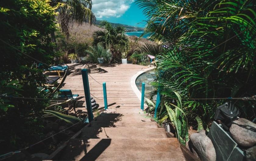 Location de vacances - Studio à Saint-Leu - accès à la piscine