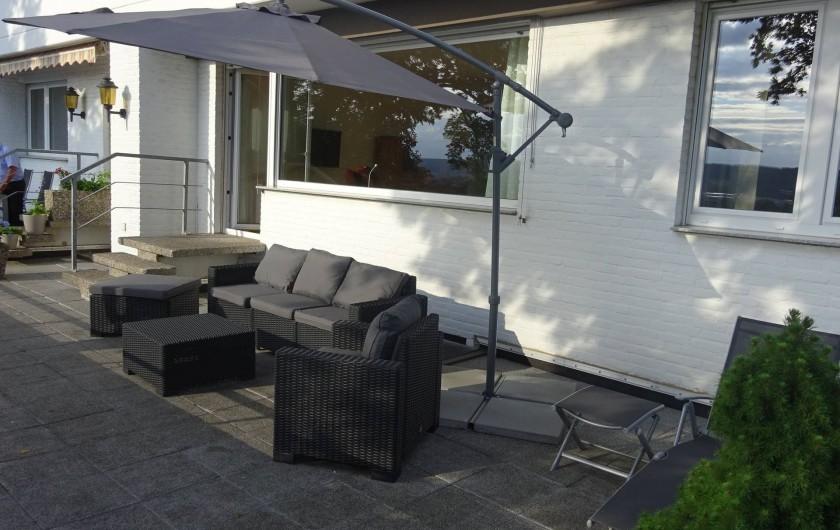 Location de vacances - Appartement à Linz - Etre à l'aise sur la terrasse
