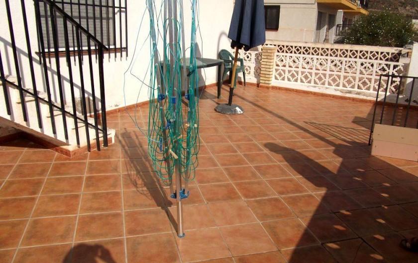 Location de vacances - Appartement à Calabardina - terrasse