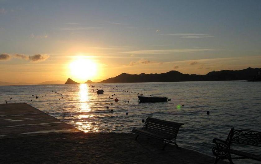Location de vacances - Appartement à Calabardina - couché de soleil