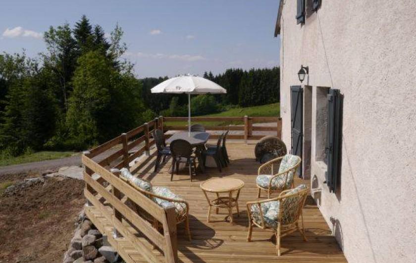 Location de vacances - Gîte à La Rosière