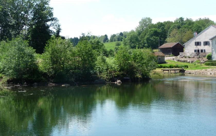 Location de vacances - Gîte à La Rosière - étang