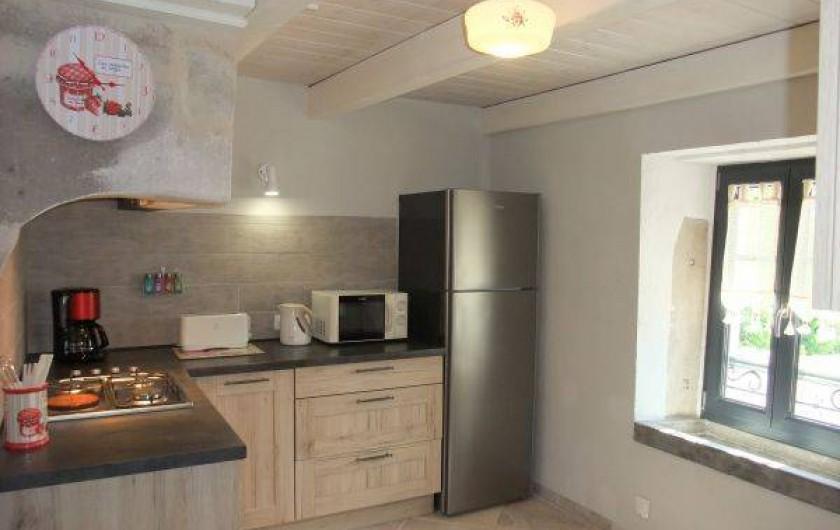 Location de vacances - Gîte à La Rosière - coin cuisine