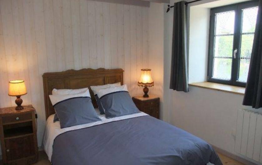 Location de vacances - Gîte à La Rosière - chambre étage un lit
