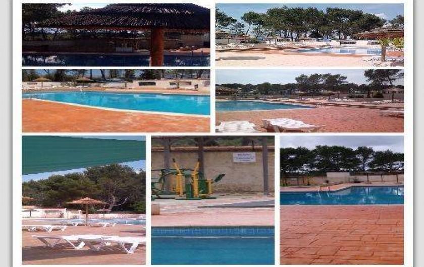 Location de vacances - Camping à Le Castellet