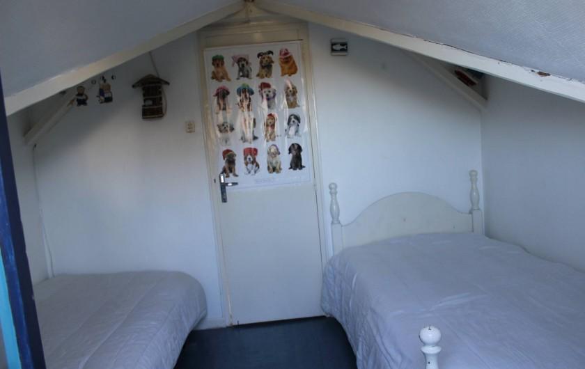 Location de vacances - Maison - Villa à Lacanau - chambre 2 lits simple