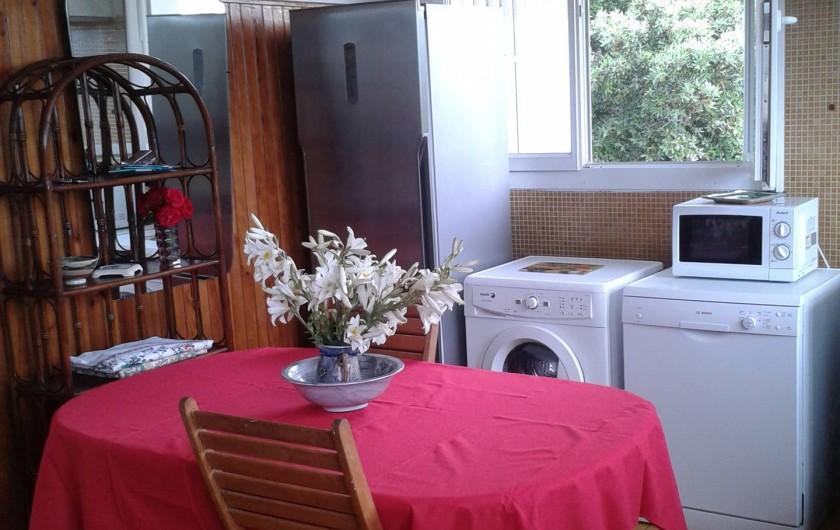 Location de vacances - Appartement à Porto-Vecchio - CUISINE