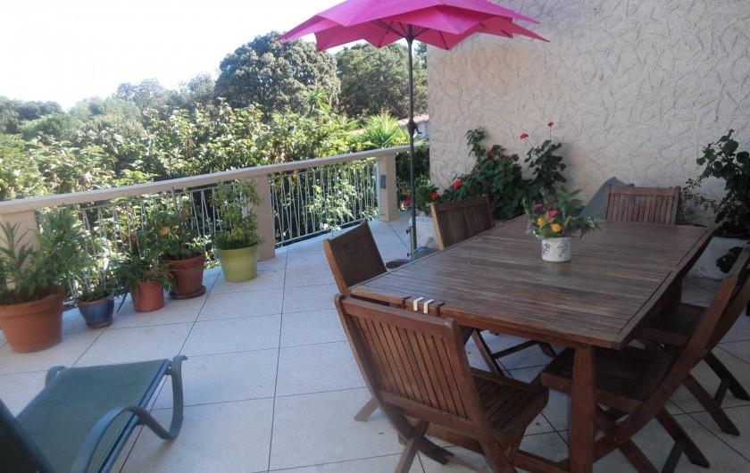 Location de vacances - Appartement à Porto-Vecchio - TERRASSE
