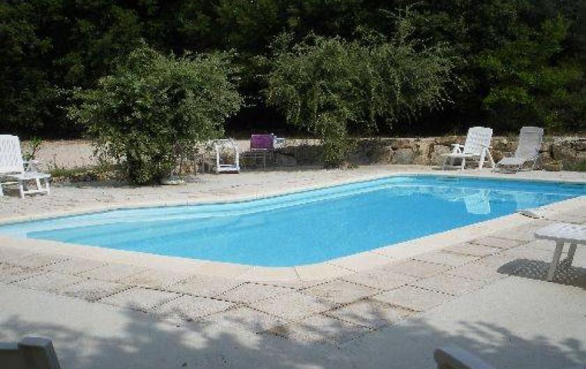 Location de vacances - Villa à Saint-Pierre-de-Vassols
