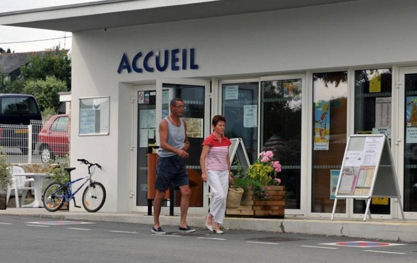 Location de vacances - Chalet à Arzon - Réception