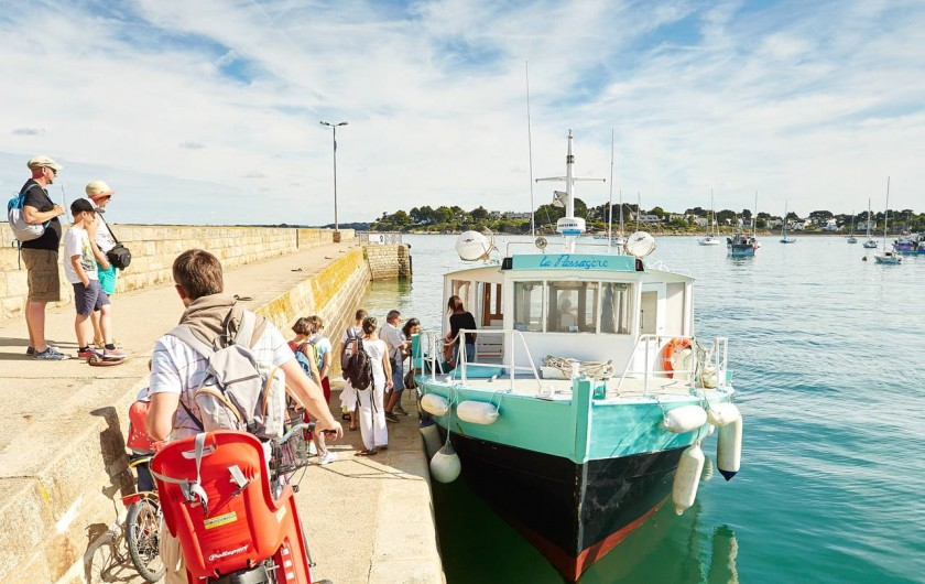 Location de vacances - Chalet à Arzon - Embarcadère pour les îles