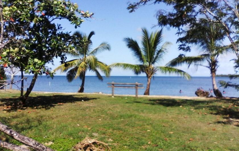 Location de vacances - Villa à Morne-À-l'Eau - La plage au bain de boue de Babin