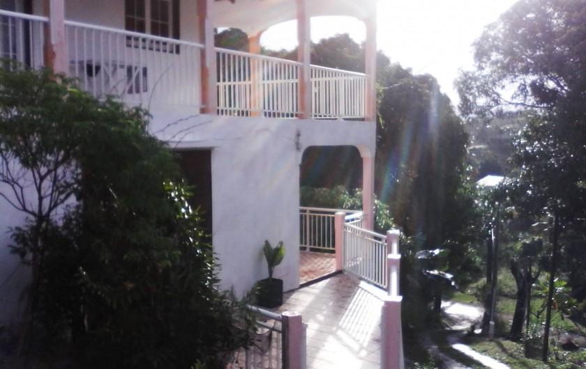 Location de vacances - Villa à Morne-À-l'Eau - La villa