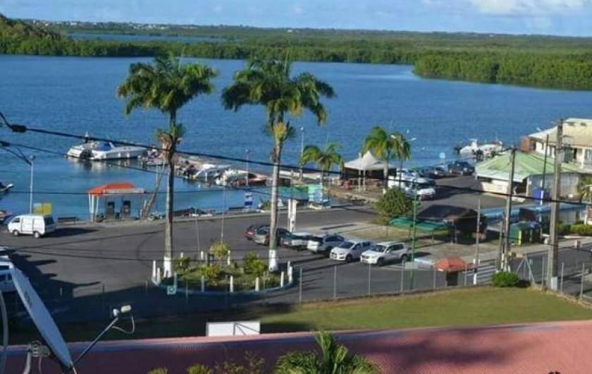 Location de vacances - Villa à Morne-À-l'Eau - Port de Vieux-bourg  et sa mangrove