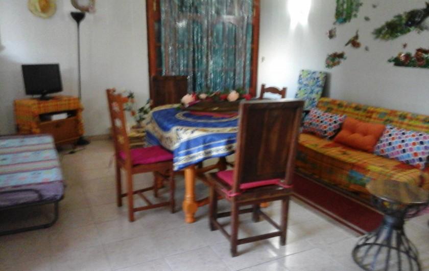 Location de vacances - Villa à Morne-À-l'Eau - salle à manger