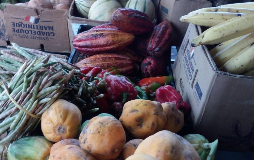 Location de vacances - Villa à Morne-À-l'Eau - Les produits locaux du marché