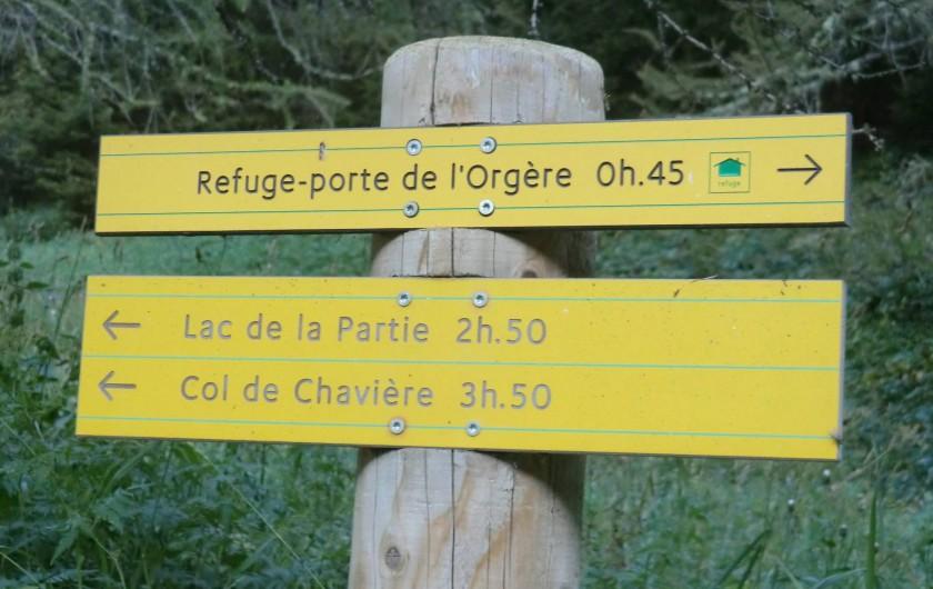 Location de vacances - Chalet à Station de Valfréjus - Balades