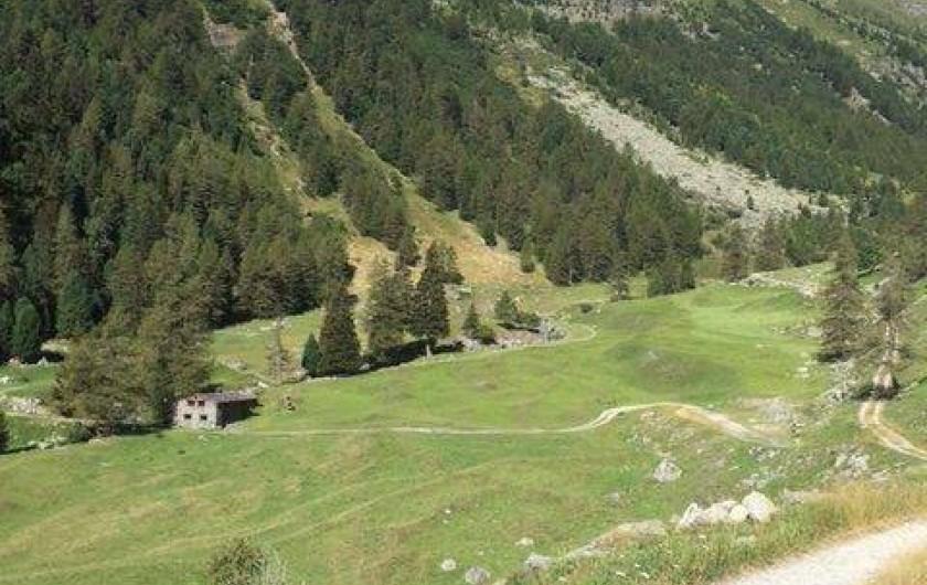 Location de vacances - Chalet à Station de Valfréjus - Dans son environnement