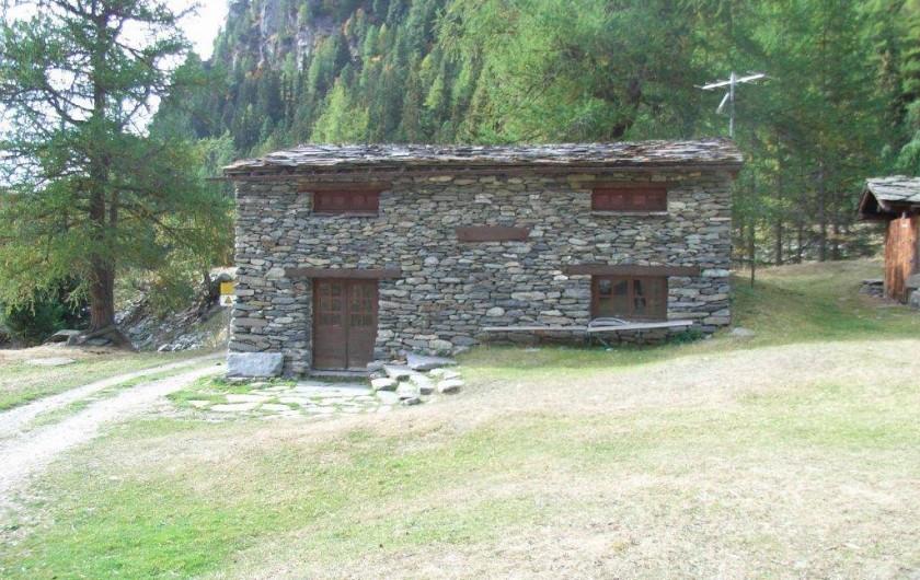 Location de vacances - Chalet à Station de Valfréjus - Chalet d'alpage