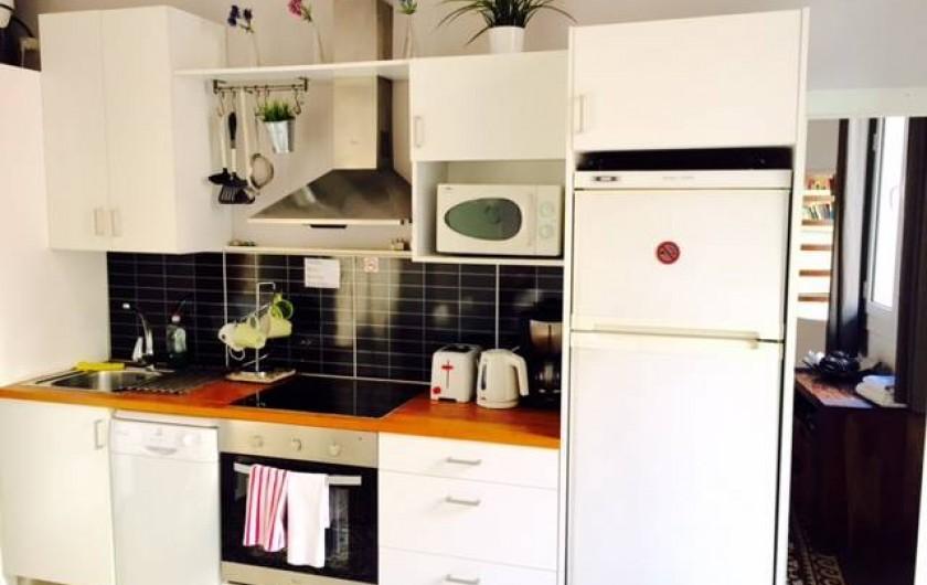 Location de vacances - Appartement à Barcelone - Cuisine