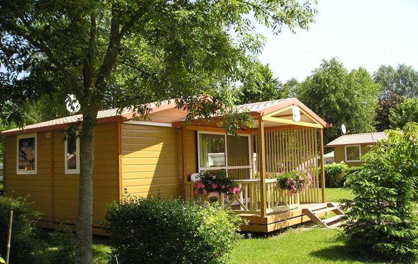Location de vacances - Camping à Lyons-la-Forêt - Chalet 5 personnes