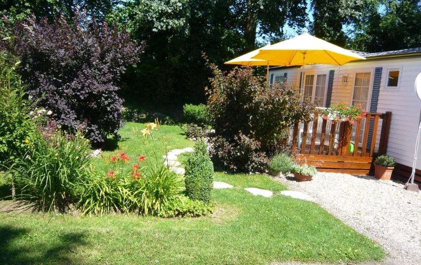 Location de vacances - Camping à Lyons-la-Forêt - Emplacement residentiel