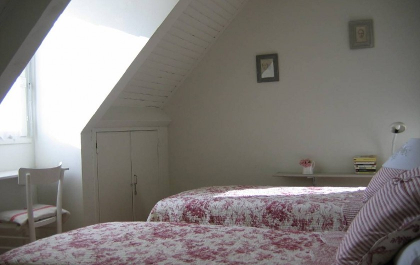 Location de vacances - Villa à Le Palais - chambre 4, 2 lits simples