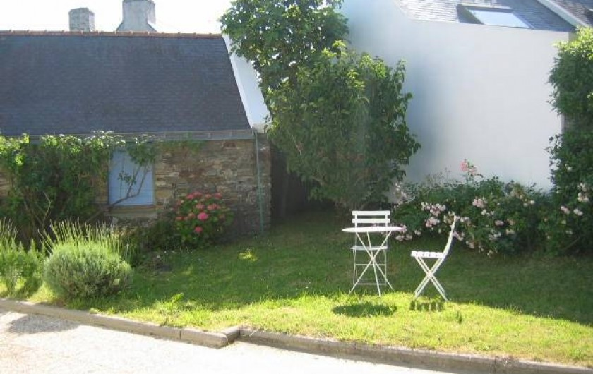 Location de vacances - Villa à Le Palais - coin de jardin