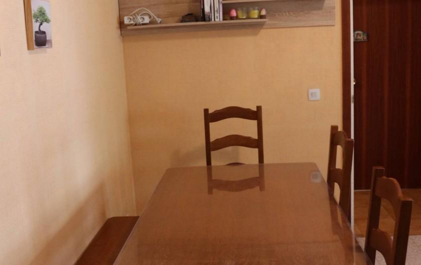Location de vacances - Appartement à Llançà - Salle à manger